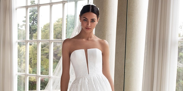 50 Gorgeous Wedding Dresses With Train Fitted Wedding Gown