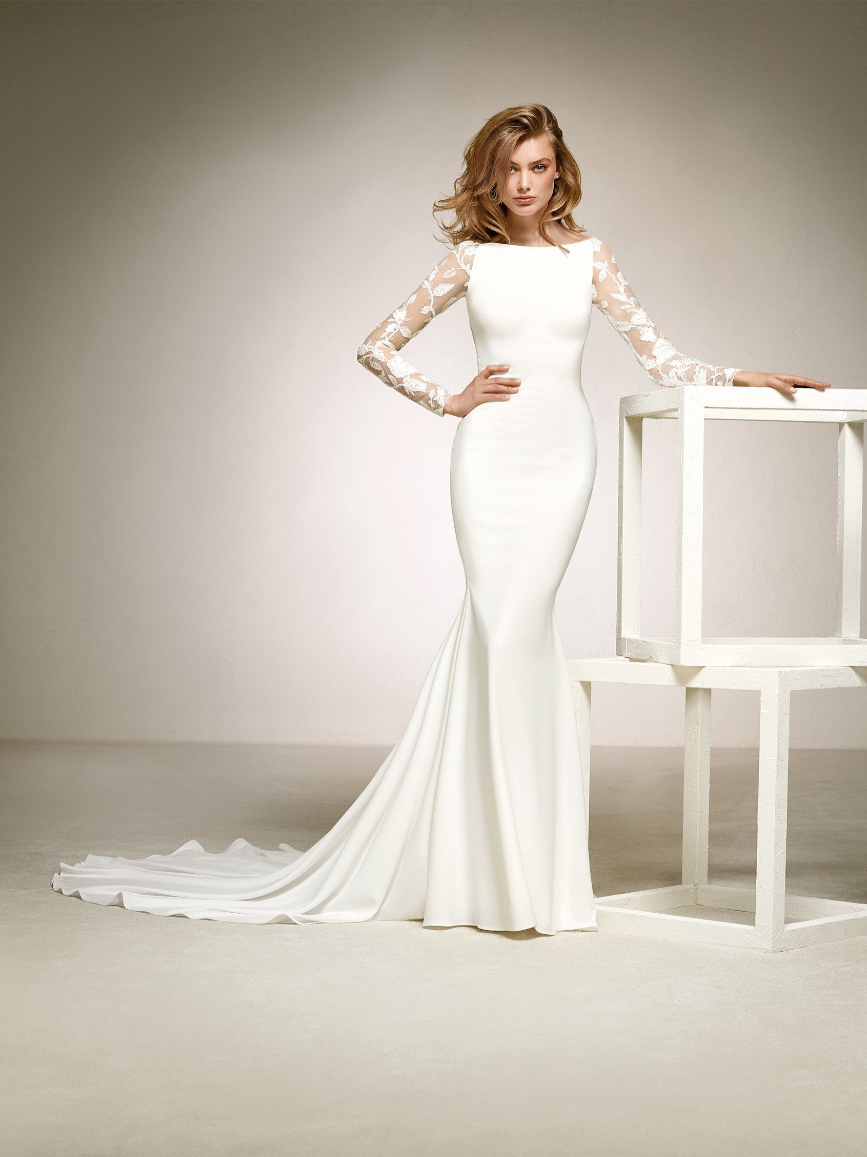 Wedding dress with sleeves pictures