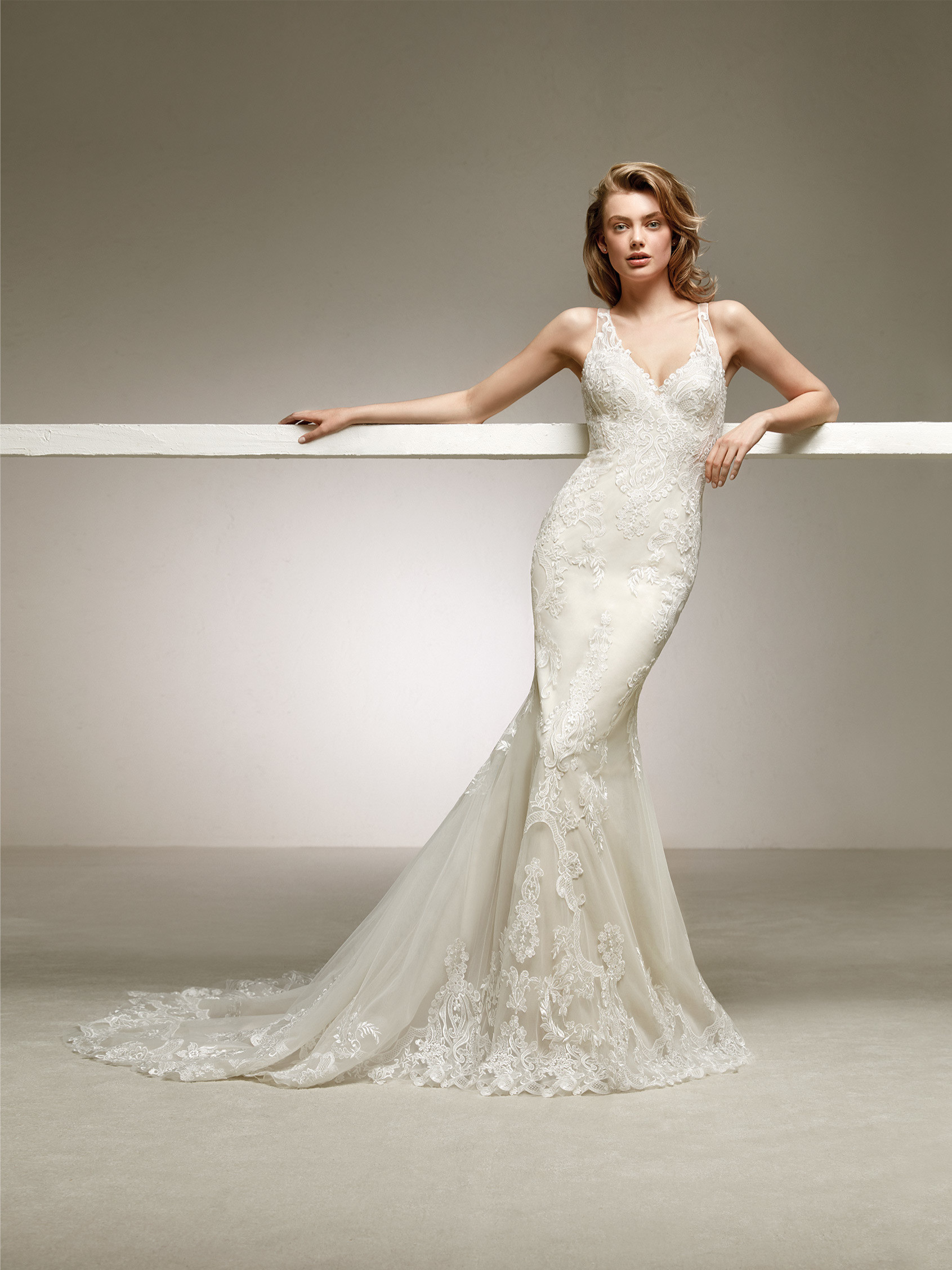 Mermaid Wedding Dress With Spectacular Back Dogal