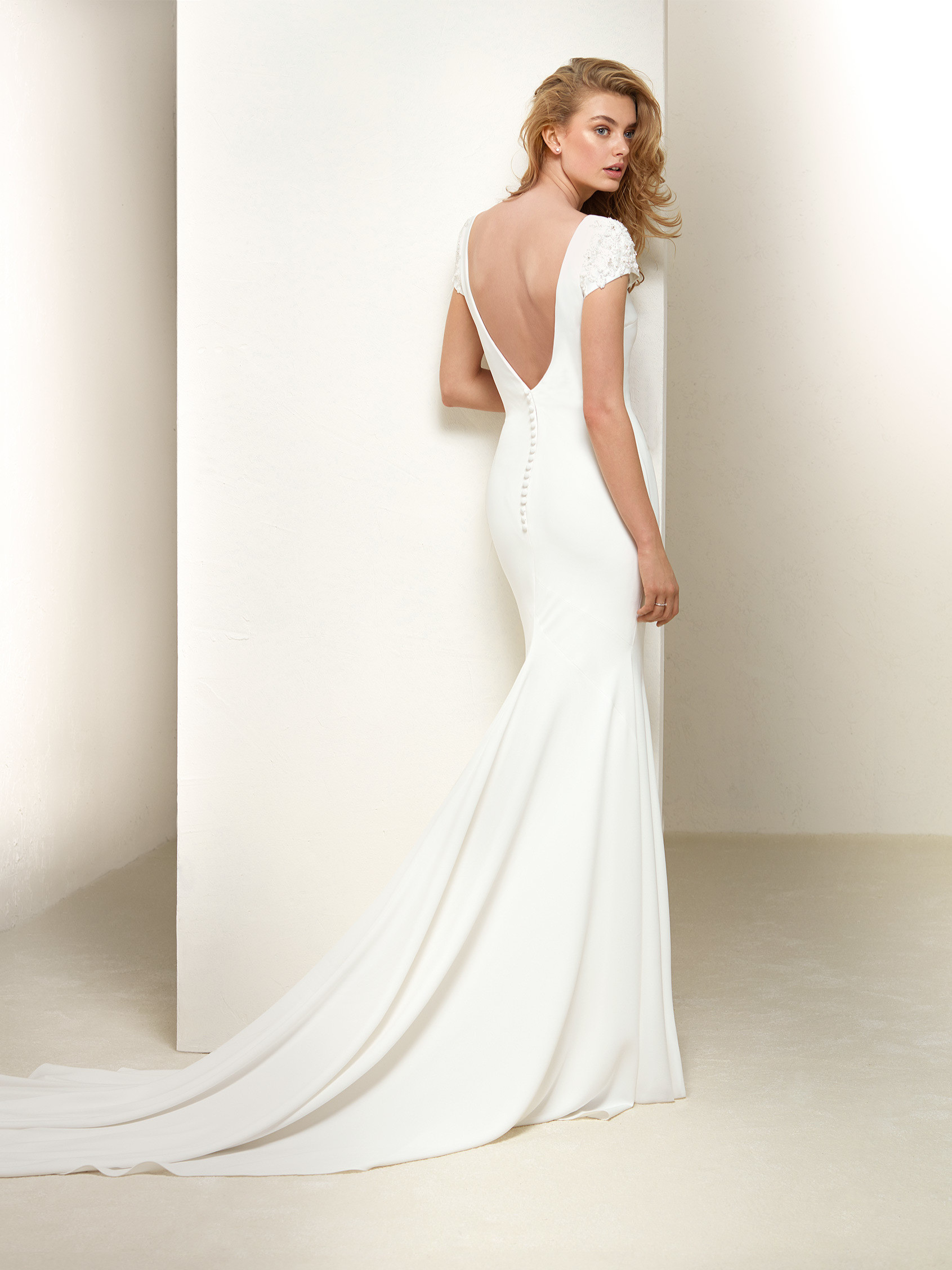 Plain Wedding Dress Dralan