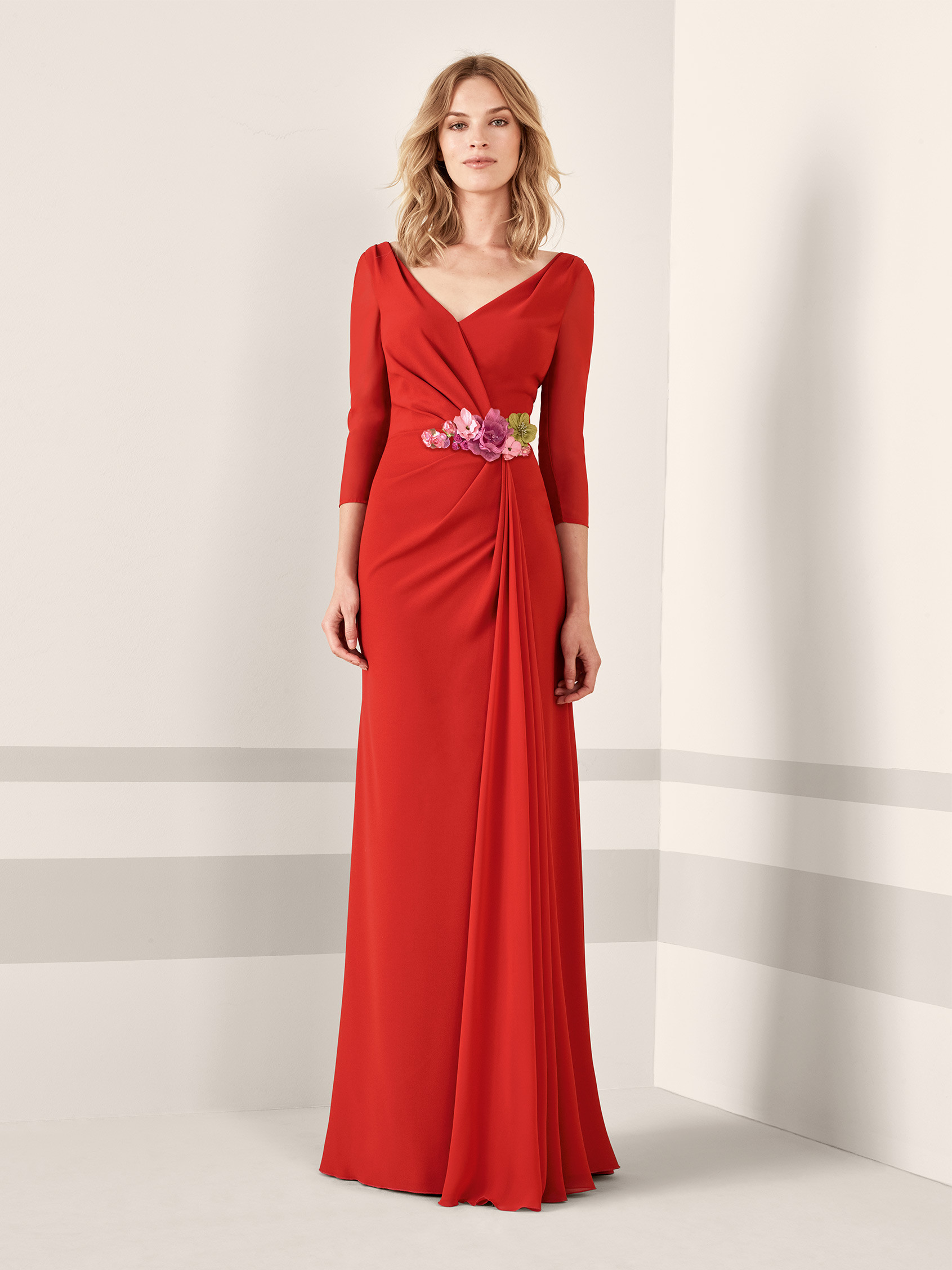 Cocktail Dresses with Flowing Sleeves