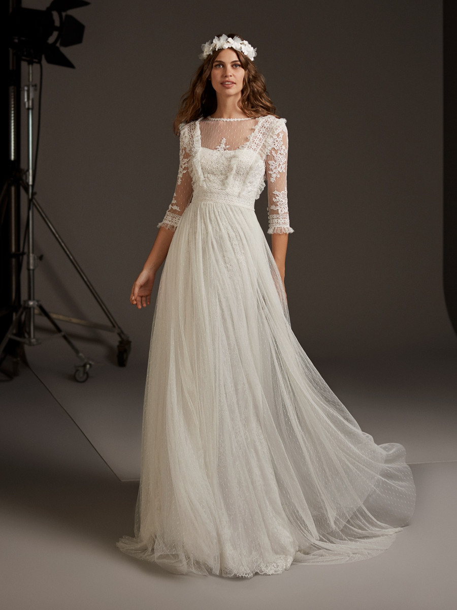 Beach Wedding Dresses & Bridal Gowns