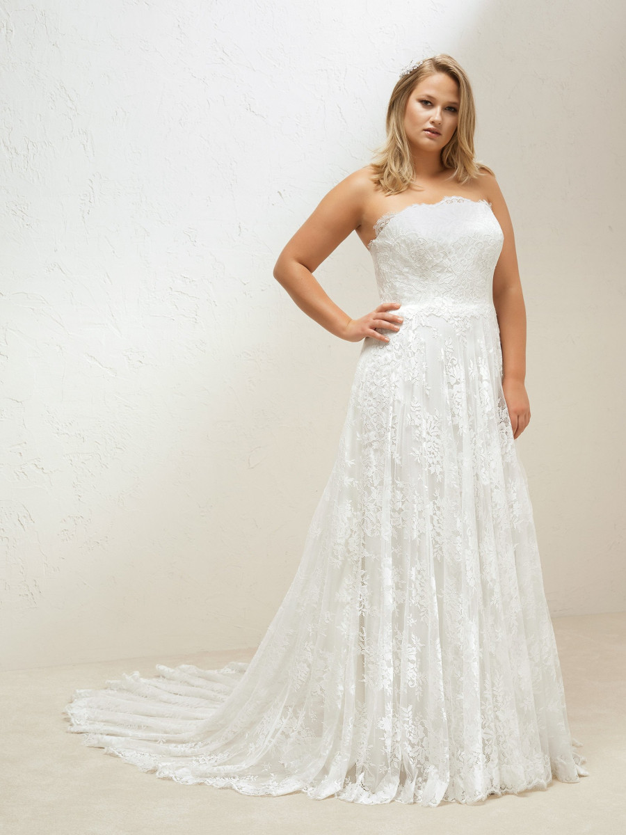 Plus Size Wedding Dresses Plus Collection Pronovias