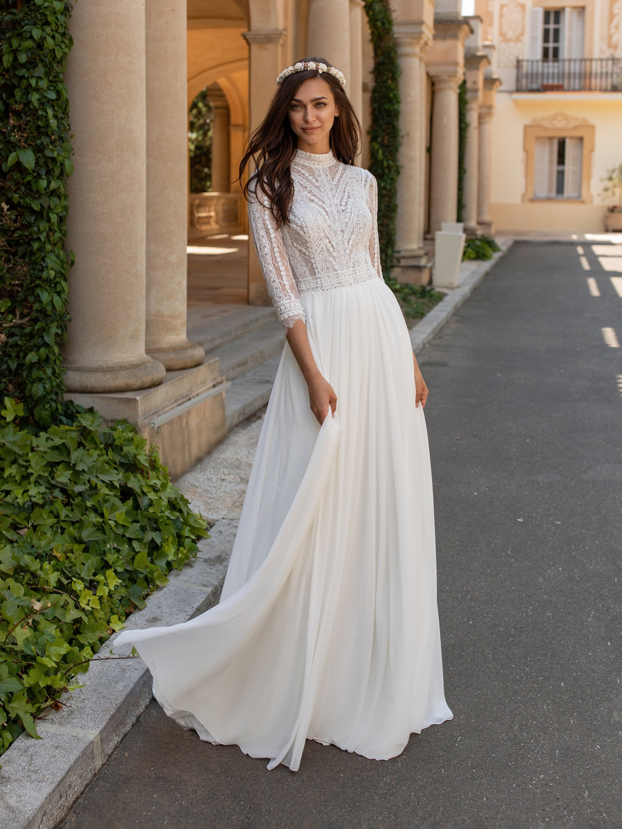Boho Wedding Dresses Bridal Gowns Pronovias
