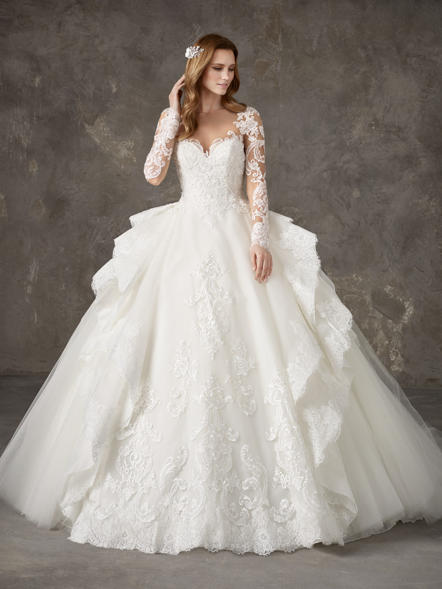 Princess Wedding Dresses & Bridal Gowns