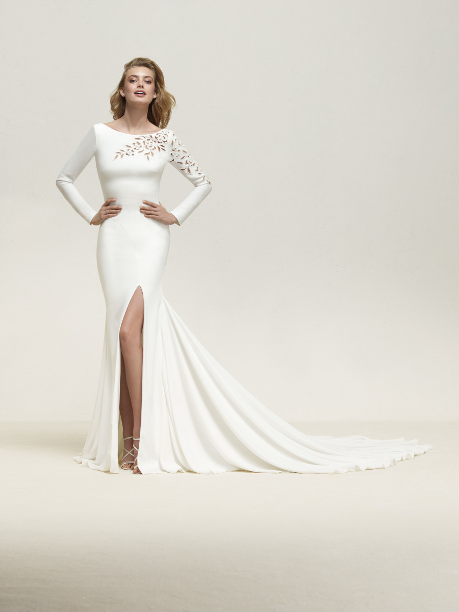 Sexy Wedding Dress Long Sleeves