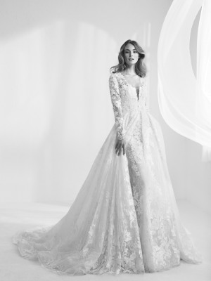 Wedding Dress Detachable Coat Randala
